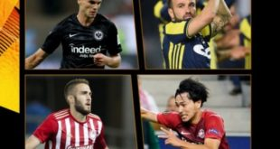 УЕФА Европа Лигасида ҳафтанинг энг яхши ўйинчиси бўлишга номзодларни эълон қилди