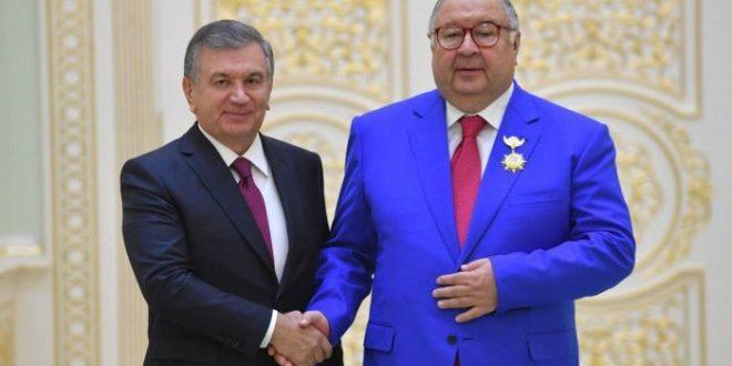Shavkat Mirziyoev Alisher Usmonov haqida: «Bunday vatandoshlarimiz bilan fakhrlanishimiz kerak