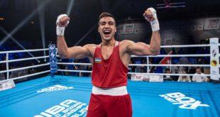 Шахрам Гиясов против мексиканца в ринге