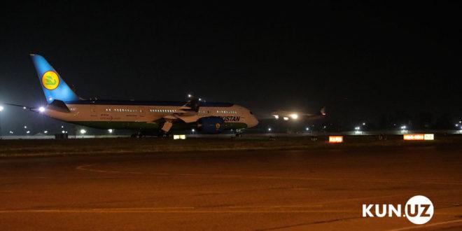 """""""Uzbekiston havo yullari"""" navbatdagi Dreamliner'ni qabul qildi"""