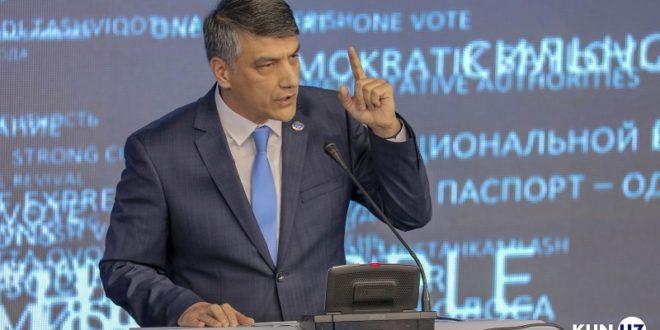 «Миллий тикланиш» Узбекистоннинг ЕОИИга кириши буйича позициясини узгартирди(ми?)