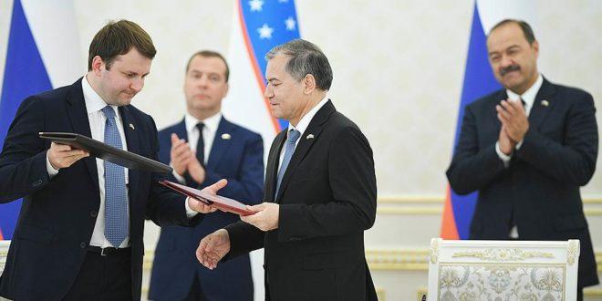 Maksim Oreshkin Uzbekiston 2020 yilda EOIIga qushilishini aytdi