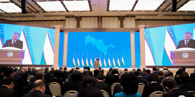 Uzbekistonda 2020 yilga nom berildi