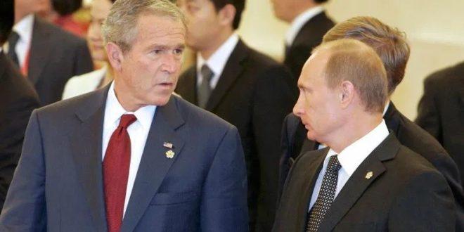 Kreml Putin va Bushning raqsga tushishi videosini elon qildi