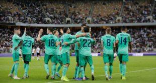 Испания Суперкубоги. «Реал» «Валенсия»ни мағлуб этиб, финалга йўл олди