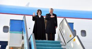 Мирзиёев завершил свой визит в Турцию и вернулся в Ташкент