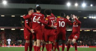 АПЛ. «Ливерпуль» 5 та гол урилган ўйинда иродали ғалабага эришди (видео)