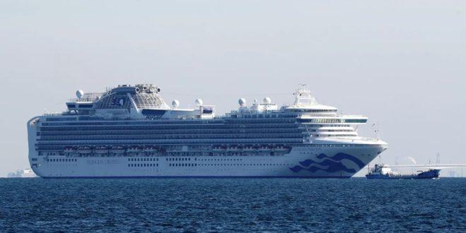 Diamond Princess лайнерида яна 67 киши коронавирусга чалингани аникланди