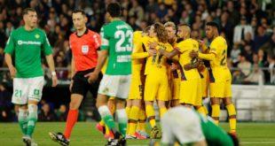 Ла Лига. «Барселона» «Бетис» майдонида камбек килиб, галабага эришди