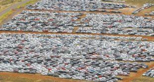 Пандемия шароитида автомобилларнинг 100 кмга чўзилган «қабристони» пайдо бўлди