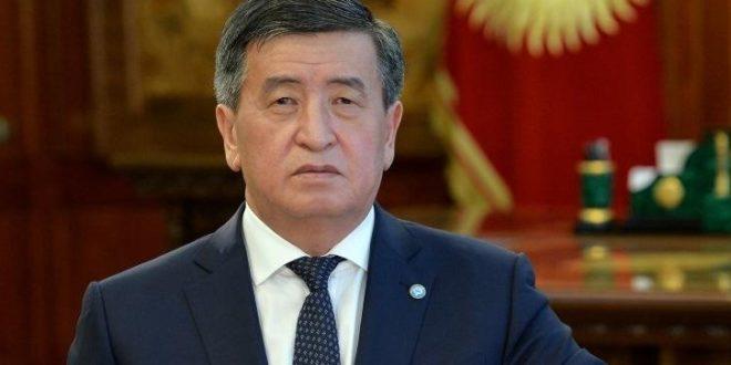 Qirgiziston prezidenti pandemiya yuzasidan hamyurtlariga murojaat qildi