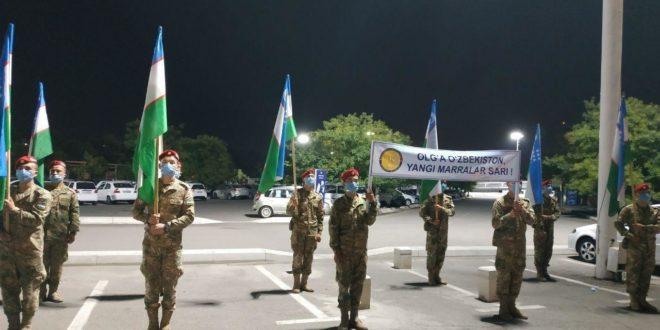 Узбекистон Мудофаа вазирлиги харбийлари «Халкаро армия уйинлари – 2020»га етиб борди