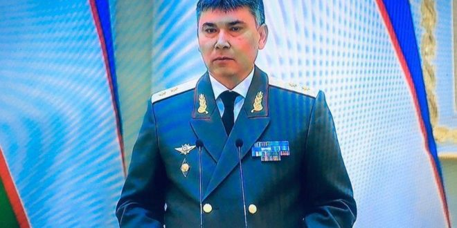 Bahodir Toshmatov Khavfsizlik kengashiga ishga utkazildi