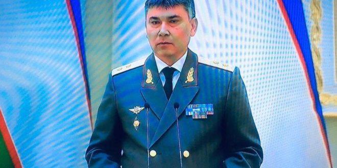 Баҳодир Тошматов Хавфсизлик кенгашига ишга ўтказилди