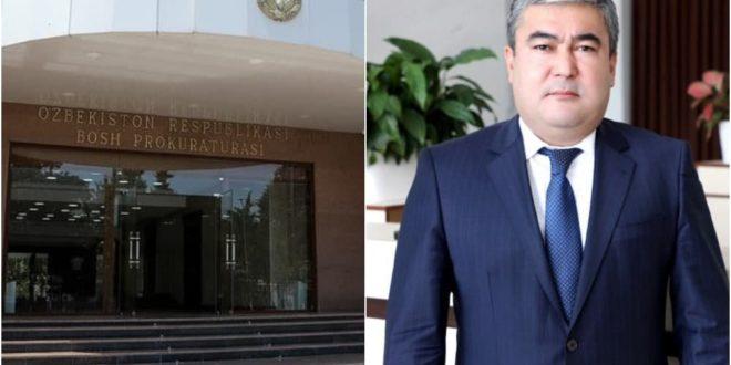 Bosh prokuratura Moliya vaziri urinbosarining korrupsiyaga aloqadorligini tekshiradi